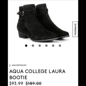 Agua College Suede Boots